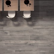 Let woodgrain porcelain tiles work for your home