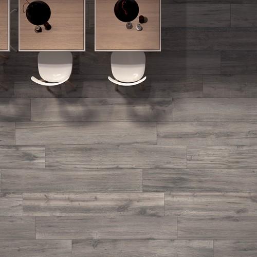 Let woodgrain porcelain tiles work for your home