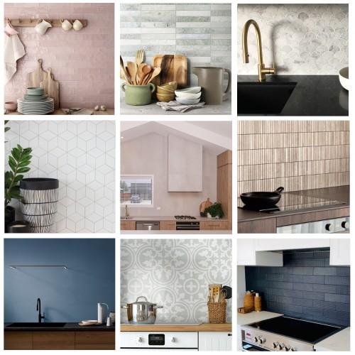 Define Your Kitchen's Vibe With Tiled Splashbacks.