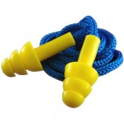 Corded Earplugs - 5 Pairs