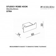 Studio 1 Robe Hook
