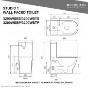 Studio 1 Back-To-Wall Toilet