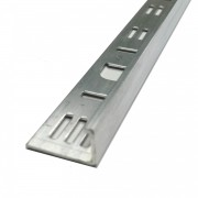 ALUMINIUM L-ANGLE TILE TRIM EDGING 10MM X 2.5MTR