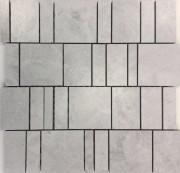 Tetris Dolomite White Mosaic 300 x 300