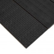 Brick Text Black 90 x 300