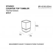 Studio 1 Countertop Tumbler