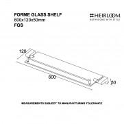 Forme Glass Shelf