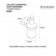 Callisto Soap Dispenser