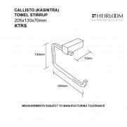 Callisto Towel Stirrup