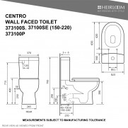 Centro Back-To-Wall Toilet - 373100S