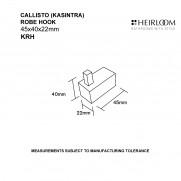 Callisto Robe Hook