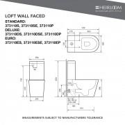 Loft Back-To-Wall Toilet - 373110SE