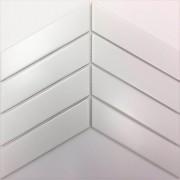Mosaix Chevron White 318x224