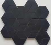 Superblack Cube Mosaic 265 x 308