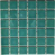 Mosaix  Amitia Green Craquele Glass 306 x 306