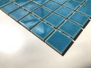 Mosaix Amitia Blue Craquele Glass 306 x 306