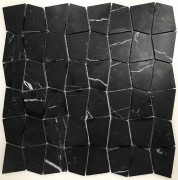 Mosaix Shapes Net Nero Marquina 305 X 305
