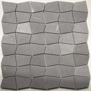 Mosaix Shapes Net Silver Grey 305 X 305