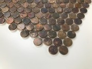 Mosaix Penny Round Copper 300x300