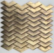Mosaix Brass Vee 288 X 300