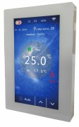 WARMFLOOR COLOUR TOUCH THERMOSTAT - WHITE TH05