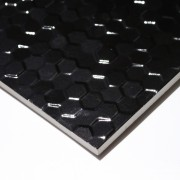 Bianca Hexagonal Black 300 x 600