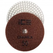 Diarex Dry Polishing Pad 50# 100mm (Brown)