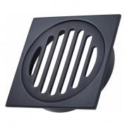 Heirloom Floor Drain 100mm Noir