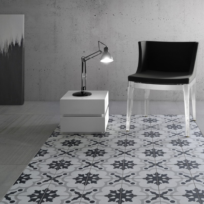 Cementina Black & White | The Tile Depot